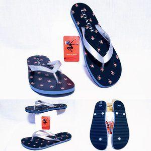 🆕Auth Coach Floral Print Zak Flip Flops, size 5/6